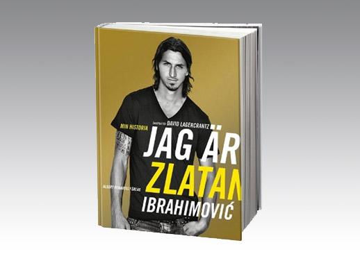 Jag är Zlatan, Albert Bonniers Förlag, 2011.