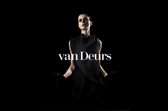 van Deurs – logotype and visual identity 2006–