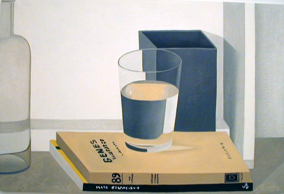 Nathalie Du Pasquier, oil on canvas, 2004.