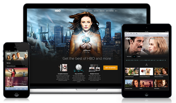 HBO Nordic, video on-demand service. Digital identity, web and mobile services. 2012.
