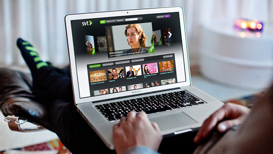 SVT Play, TV on-demand. Brand, web and mobile services, 2009– ongoing.