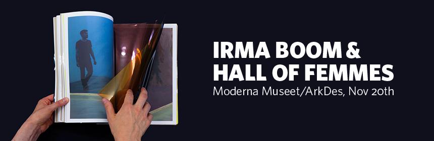 Irma Boom & Hall of Femmes 2